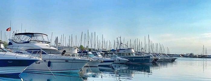Kalamış Marina is one of Lugares favoritos de ANIL.