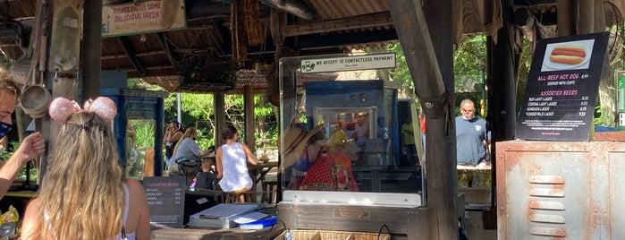 Harambe Fruit Market is one of Disney.