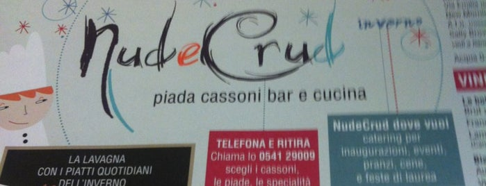 Nud e Crud is one of Dove mangiare la piadina a Rimini.
