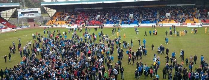 McDiarmid Park is one of International Sports~Part 2....