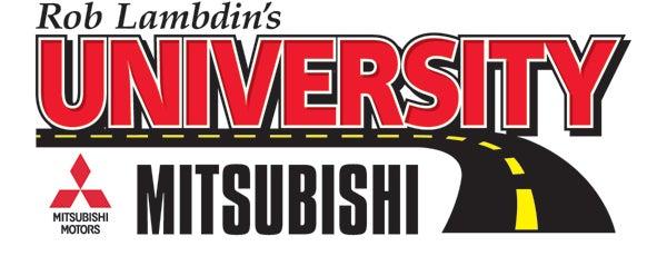 University Mitsubishi is one of สถานที่ที่ Jon ถูกใจ.