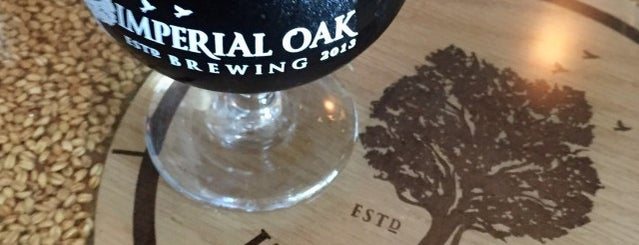 Imperial Oak Brewing is one of Chicago suburbs.