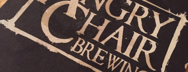 Angry Chair Brewing is one of Beer / Ratebeer's Top 100 Brewers [2017].