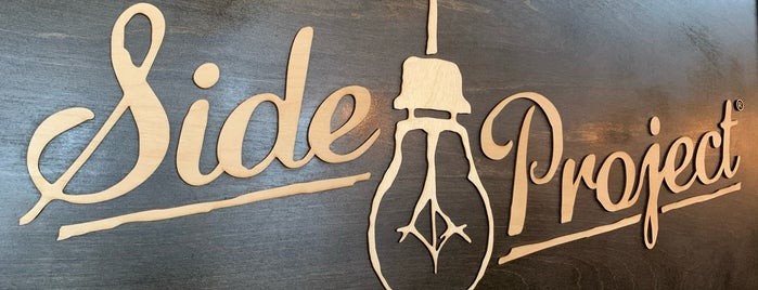Side Project Brewing is one of Beer / Ratebeer's Top 100 Brewers [2020].