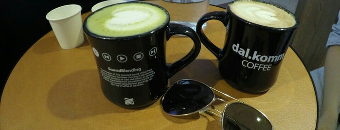 dal.komm COFFEE is one of ᴡ 님이 좋아한 장소.