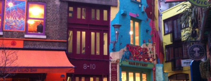 Neal's Yard is one of london list.
