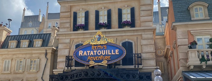 Remy's Ratatouille Adventure is one of Locais curtidos por P..