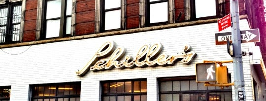 Schiller's Liquor Bar is one of Manhattan Eats.