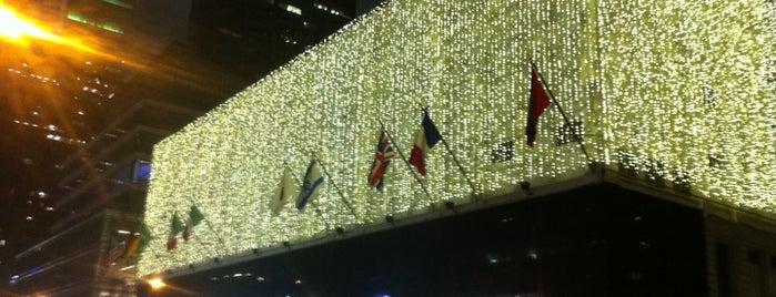 Bloomingdale's is one of Christmas in NYC.