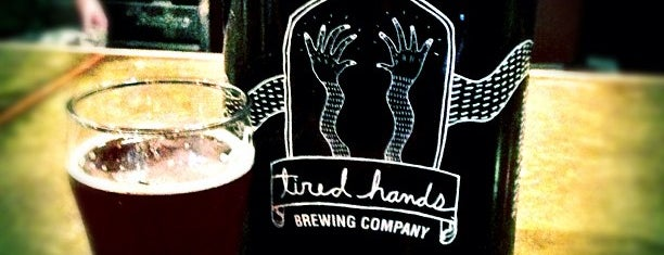 Tired Hands Brew Café is one of Booze.