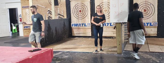 Bad Axe Throwing is one of Date Spots.