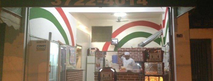 Pizzaria Mazzagrand is one of Thaís 님이 좋아한 장소.