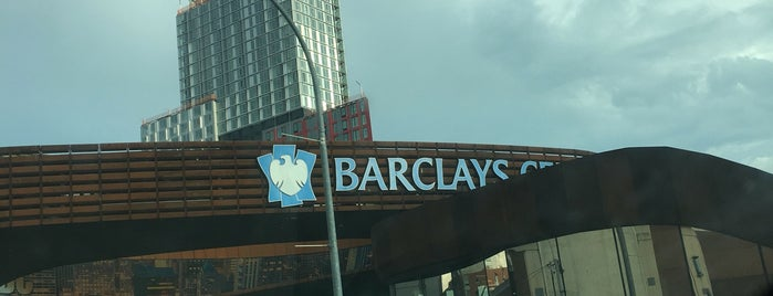 Fatty Cue at the Barclays Center is one of Lieux sauvegardés par Fabio.