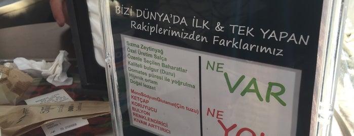Acıcık Çiğköfte   Merkez is one of สถานที่ที่บันทึกไว้ของ Emre.