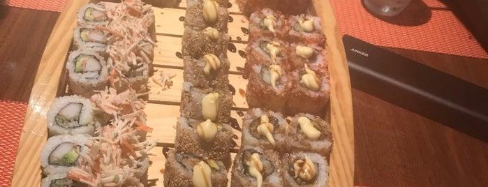 Sushi Yoshi is one of Locais curtidos por Asma.