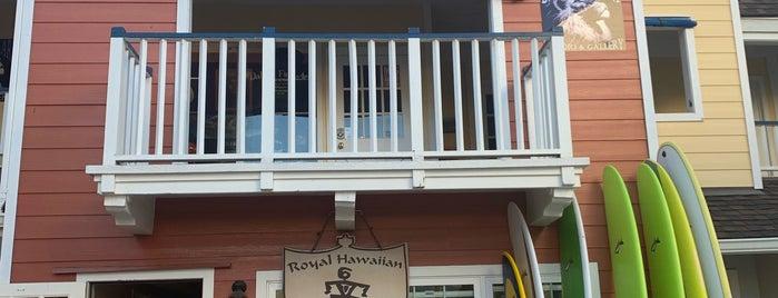 Royal Hawaiian Surf is one of สถานที่ที่บันทึกไว้ของ Sean.