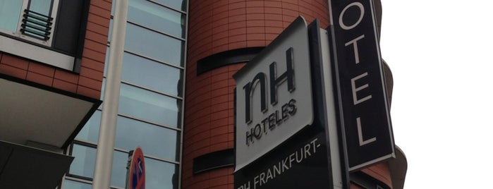 Hotel NH Collection Frankfurt City is one of My Hotels.