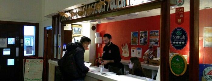 SYHA Hostel Glasgow is one of Alan'ın Beğendiği Mekanlar.