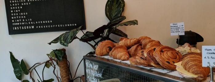 Saint Bride Press is one of London : Coffee & Breakfast.