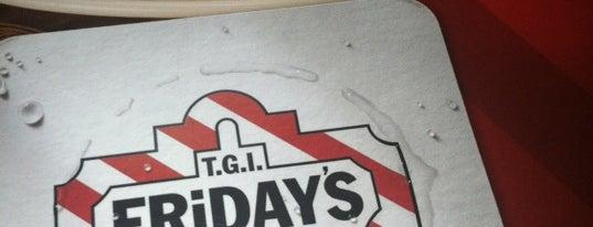 TGI Fridays is one of Lieux sauvegardés par JULIE.