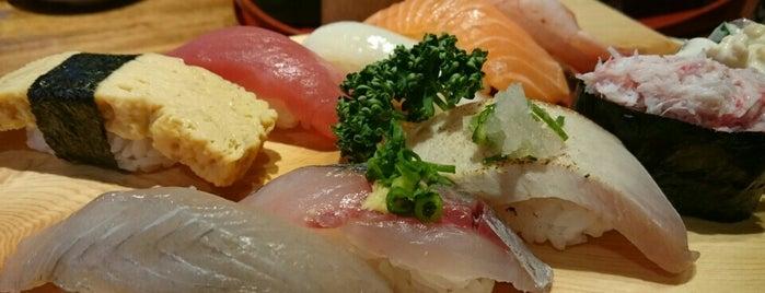 もりもり寿し 片町店 is one of 金沢関係.