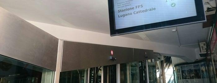 Funicolare Lugano-Città TPL is one of Posti che sono piaciuti a Amit.
