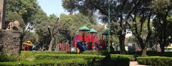 Parque San Antonio is one of Tempat yang Disukai Rosa María.