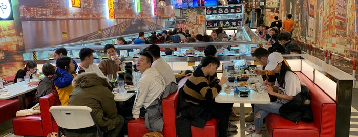 Sushi+ Rotary Sushi Bar is one of Cheap Eats—- Chicago.