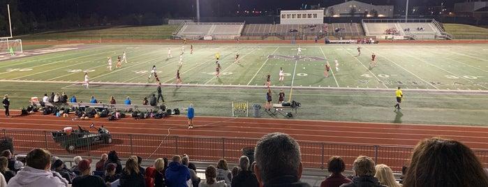 Eagle Stadium is one of Tempat yang Disukai Tammy.