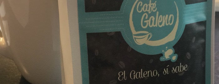 Cafe Galeno is one of Orte, die Omar gefallen.