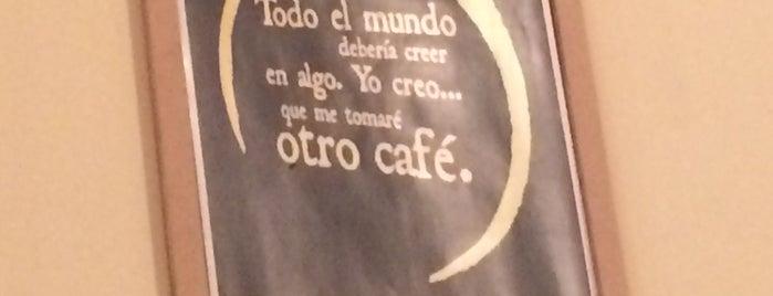 Café Monteabuelo is one of Orte, die Omar gefallen.