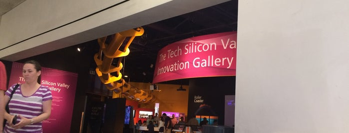 The Tech Museum of Innovation is one of Orte, die Omar gefallen.
