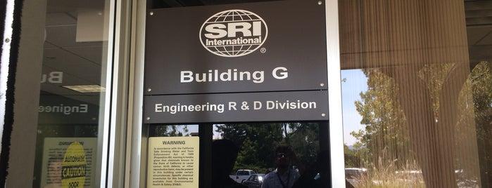 SRI International is one of Orte, die Omar gefallen.