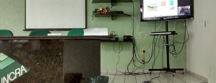 Instituto Nacional de Colonização e Reforma Agrária (INCRA) is one of ATM - Onde encontrar caixas eletrônicos.