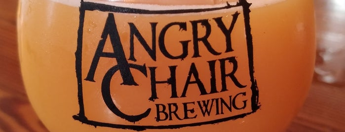 Angry Chair Brewing is one of Beer / Ratebeer's Top 100 Brewers [2018].