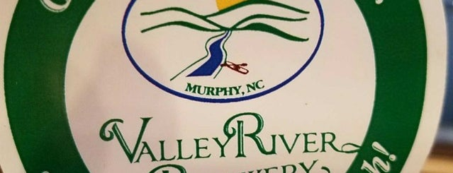 Valley River Brewery and Eatery is one of Murphy, NC.