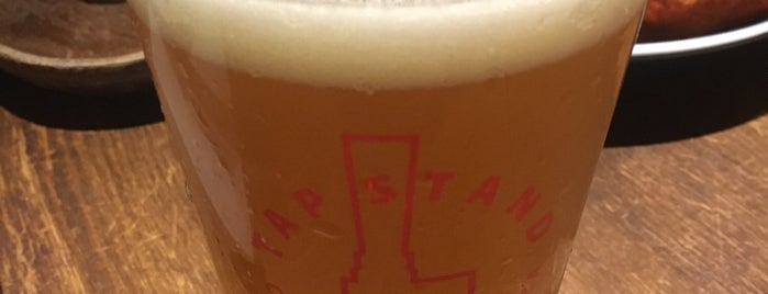 TAP STAND Craft Beer & Pizza is one of クラフトビール.