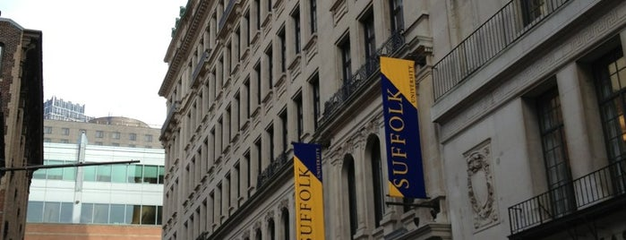 Suffolk University 10 West Residence is one of Suffolk University.