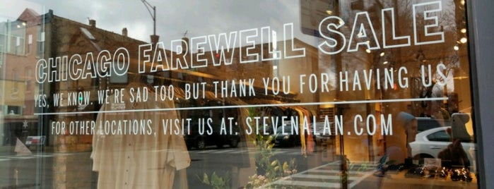 Steven Alan is one of Chicago.