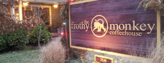The Frothy Monkey is one of Adventures in Dining: USA!.