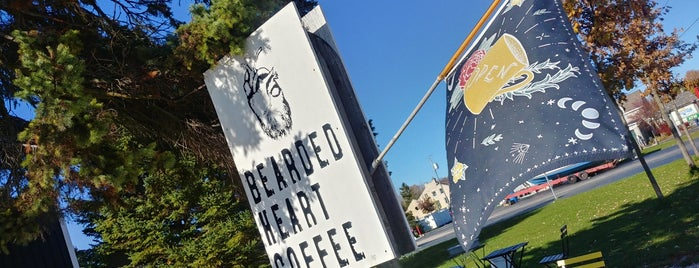 Bearded Heart Coffee is one of Door county.
