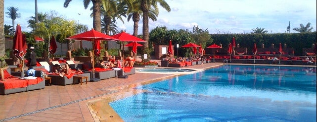 Sofitel Marrakech Lounge & Spa is one of Marrakech & Essaouira & Tanger.
