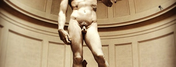 Galleria dell'Accademia is one of Florence - Firenze - Peter's Fav's.