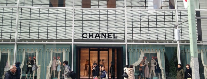 CHANEL is one of Tokyo.
