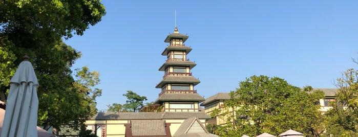 YuWenquan Hot Spring Resort is one of Zhuhai.