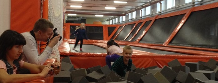 Спортивно-развлекательный Клуб Jump is one of สถานที่ที่ Ириша ถูกใจ.