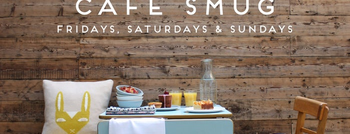 CAFÉ SMUG is one of London Coffee.