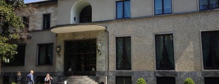 Villa Necchi Campiglio is one of Milano.