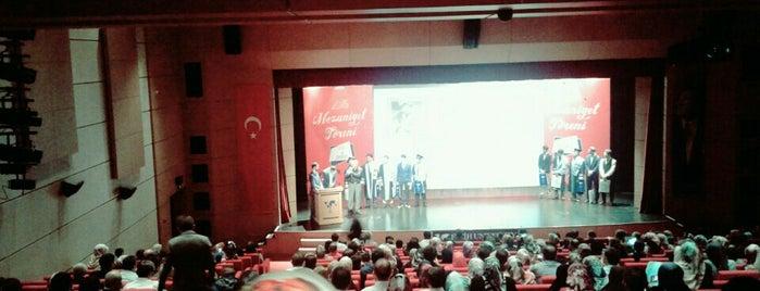 Fatih Üniversitesi Farabi Konferans Salonu is one of Muhammed Mahmudさんのお気に入りスポット.