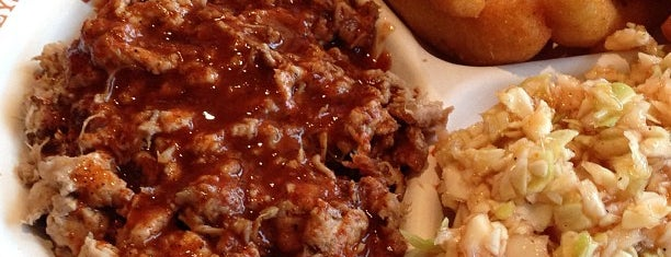 Stamey's Old Fashioned Barbecue is one of The Boro.